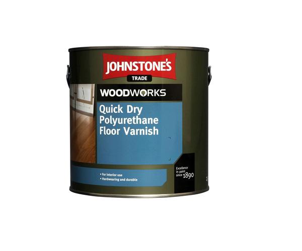 Johnstones quick dry floor varnish