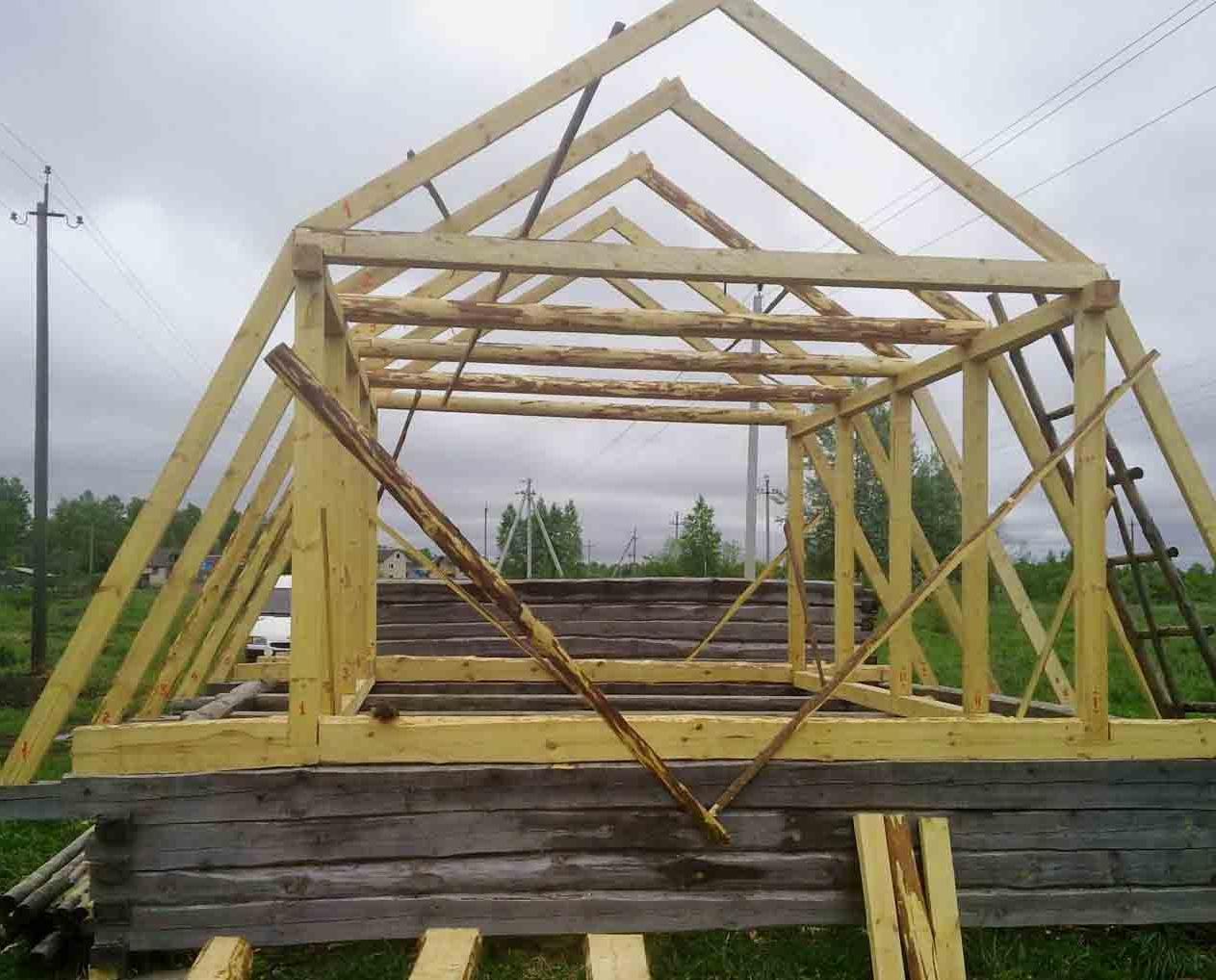 Как построить мансарду своими руками